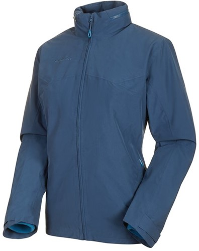Mammut Trovat 3-in-1 Hooded Jacke Frauen blau L