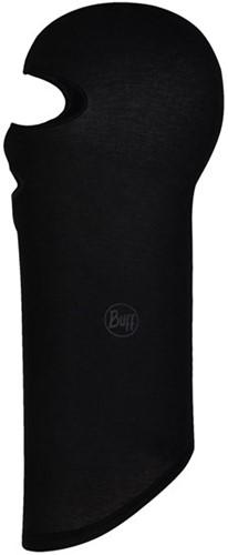 Buff Microfiber Balaclava Solid Black