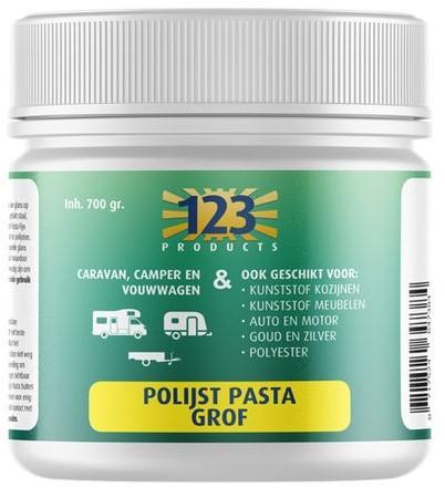 123 Polijstpasta Grof pot 700 g