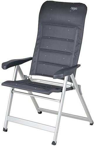 Crespo AL-237 Camping Chair Deluxe grey
