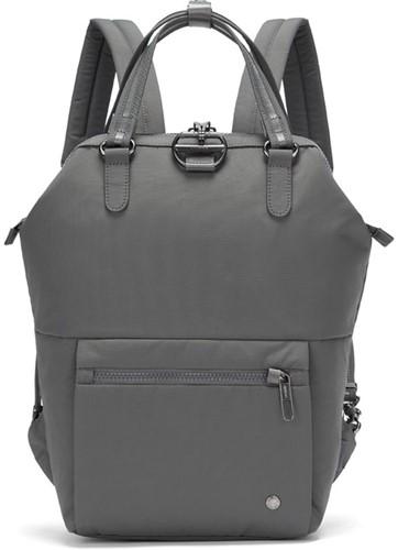 Pacsafe Citysafe CX mini backpack Econyl Storm