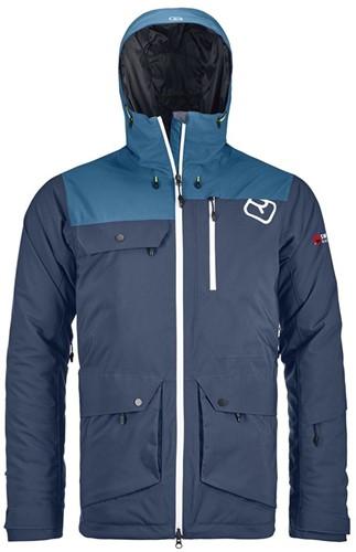 Ortovox 2L Swisswool Andermatt Jacket M night-blue L