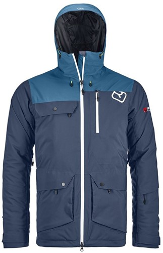Ortovox 2L Swisswool Andermatt Jacket M night-blue XXL