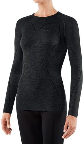 Falke Long Sleeve Comfort Wool-Tech W black S