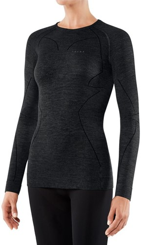 Falke Long Sleeve Comfort Wool-Tech W black XL