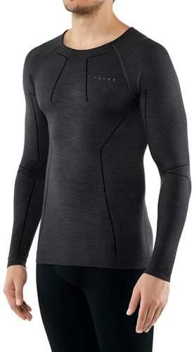 Falke Long Sleeve Comfort Wool-Tech M black XL