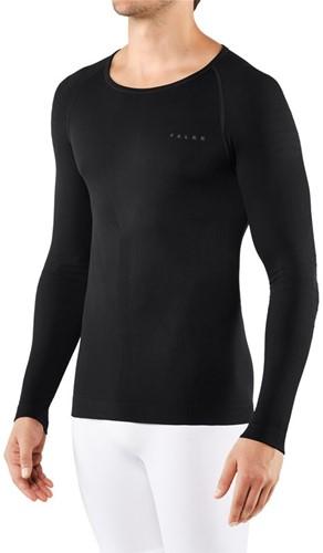 Falke Long Sleeve Warm M black XXL