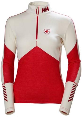 Helly Hansen Lifa Merino 1/2 Zip Women canada ski team M (2018)
