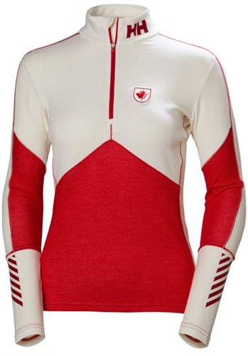 Helly Hansen Lifa Merino 1/2 Zip Women canada ski team XS (2018)