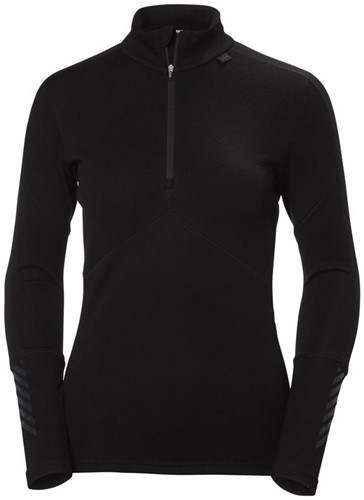Helly Hansen Lifa Merino 1/2 Zip W black M