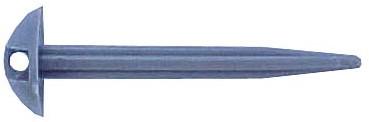 Campking Groundsheetpeg Plastic 10x0.9cm 6pcs