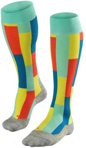 Falke SK4 Brick Women ski socks fiji 35-36