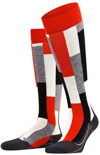 Falke SK4 Brick Women ski socks samba orange 41-42