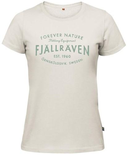 Fjallraven Est. 1960 T-Shirt Frauen weiss S