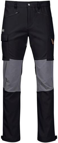 Bergans Nordmarka Hybrid Hose schwarz/grau L