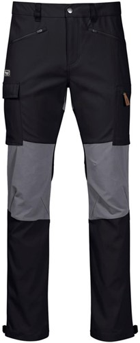 Bergans Nordmarka Hybrid Hose schwarz/grau M