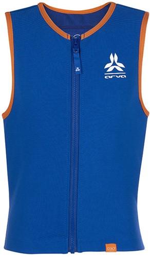 Arva Action Vest Junior D30 Boy blue/orange L