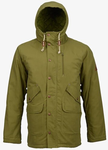 Burton Sherman Men's Jacket olive branch XS (2017)