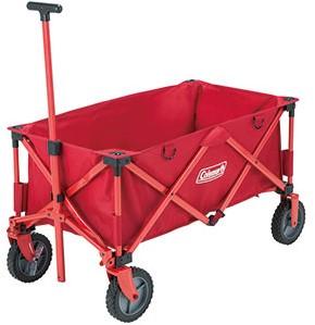 Coleman Camping Wagon Bollerwagen rot