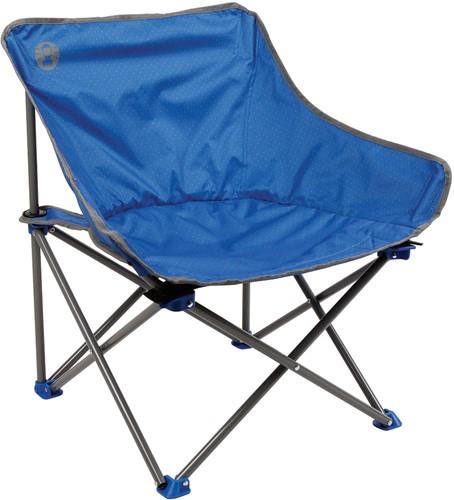 Coleman Kick-Back chair blue dot