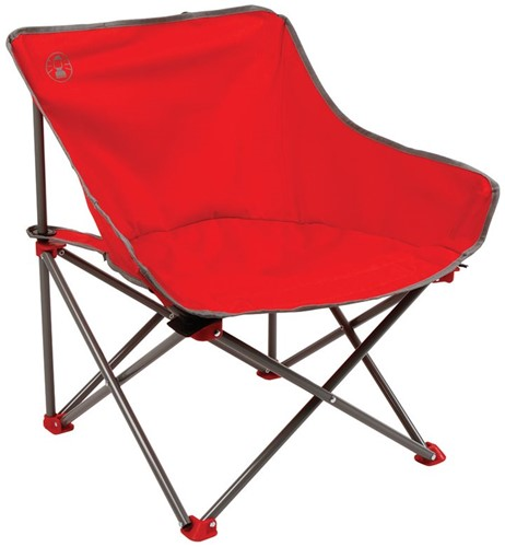 Coleman Kick-Back chair red