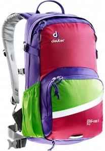 Deuter Bike I 14 backpack purple (2017)