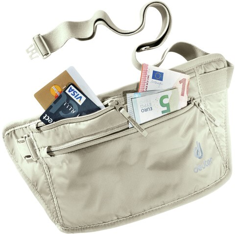 Deuter Security Money Belt II RFID Block sand (2020)