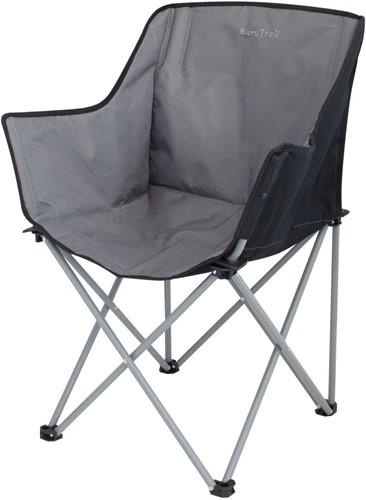 Eurotrail Kampala Foldable Chairs charcoal/black