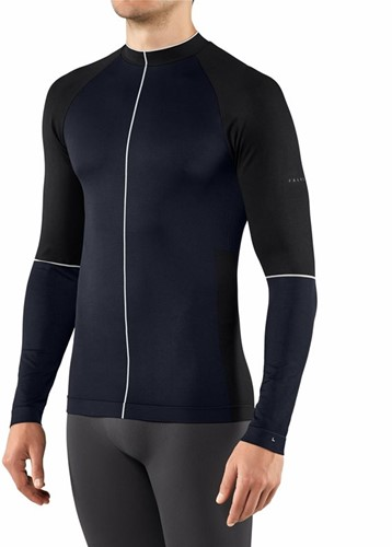 Falke Men Long Sleeved shirt marine XL