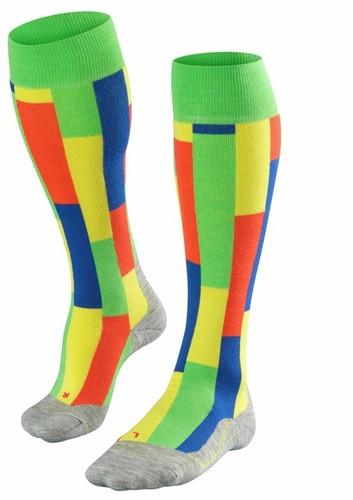 Falke SK4 Brick Men ski socks vivid green 42-43