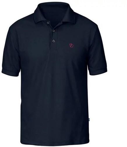Fjallraven Crowley Pique Shirt Herren blau/schwarz L