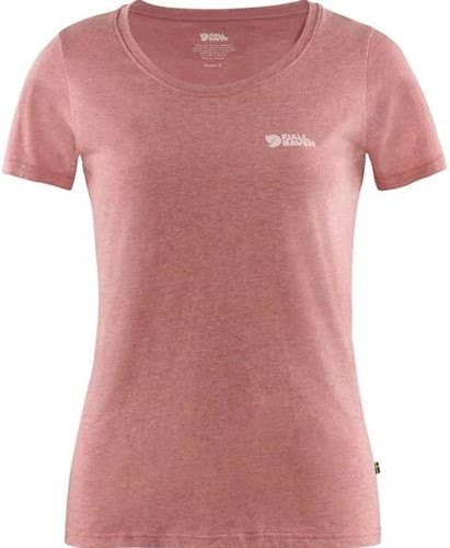 Fjallraven Logo T-shirt Frauen rot L