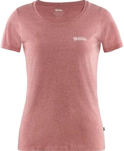 Fjallraven Logo T-shirt Frauen rot S