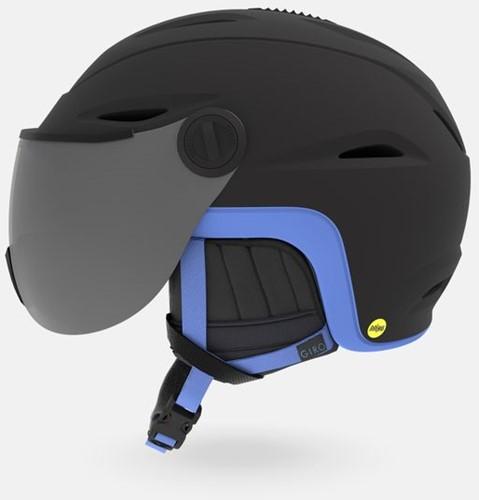 Giro Essence MIPS matte black/shock blue M (55.5-59 cm)