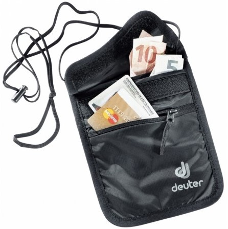 Deuter Security Wallet II black (2020)