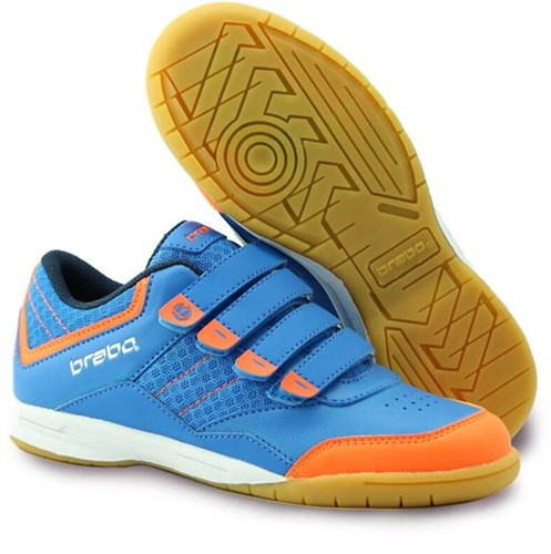 Brabo Indoor Velcro Kids blue/orange 31 (20/21)