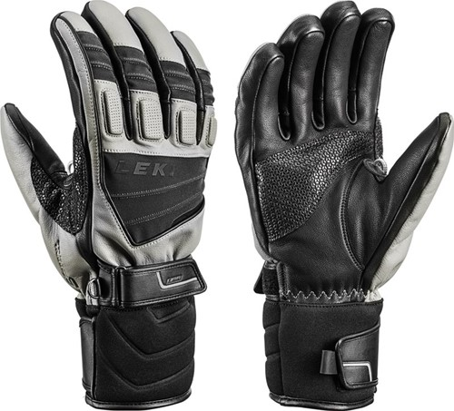 Leki Griffin S graphite/black 10.5 gloves (2018)