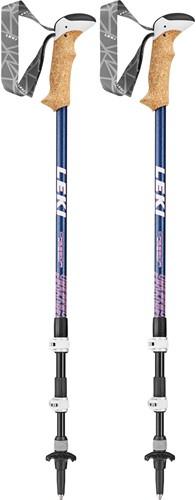 Leki Cressida AS Trekkingstöcke blau 90-125 cm