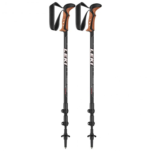 Leki Khumbu Trekkingstöcke schwarz 110-145 cm