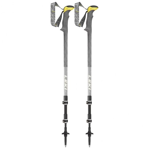 Leki Sherpa XTG Trekkingstöcke grau 110-145 cm