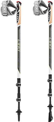 Leki Traveller Carbon Nordic Walking Stöcke anthrazit 90-130 cm
