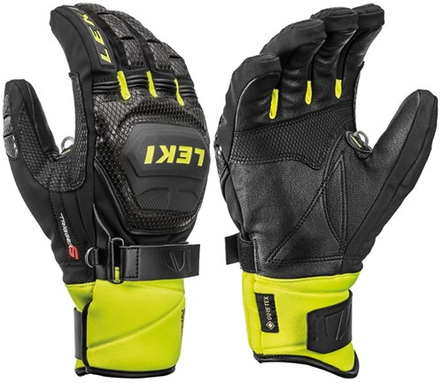 Leki Worldcup Race Coach Flex S GTX black/ice-lemon 9