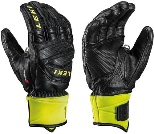 Leki Worldcup Race Downhill S black/ice-lemon 9