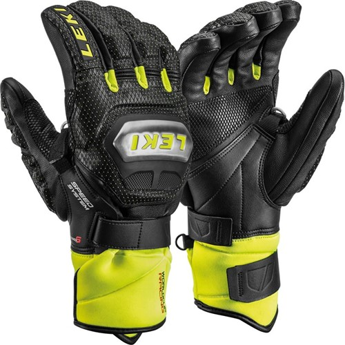 Leki Worldcup Race Ti S Speed System black/ice-lemon 10