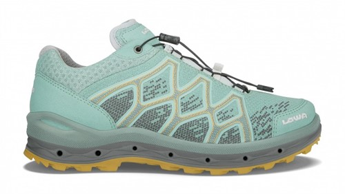 Lowa Aerox GTX Lo Ws blau/orange 41 (UK 7)