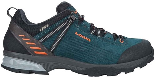 Lowa Ledro GTX Lo petrol/orange 45 (UK 10.5)