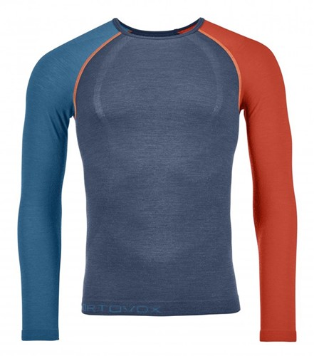 Ortovox 120 Comp Light Long Sleeve M night-blue S