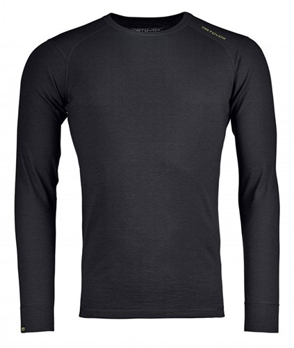 Ortovox 145 Ultra Long Sleeve M black-raven XL