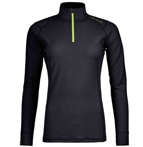 Ortovox 145 Ultra Zip Neck W black-raven L