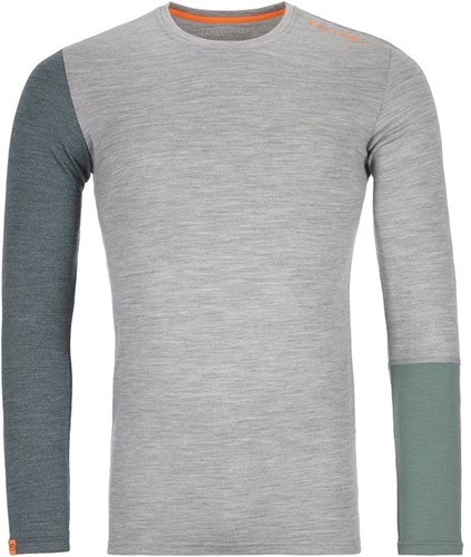 Ortovox 185 Rock'N'Wool Long Sleeve M grey-blend S